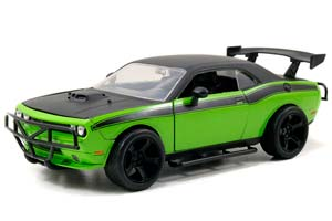 DODGE CHALLENGER SRT8 MOVIE FAST AND FURIOUS 7 2015 GREEN/GREY *ДОДЖ