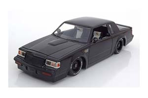 Buick Grand National From The Movie Fast & Furios 1987 Black Dom