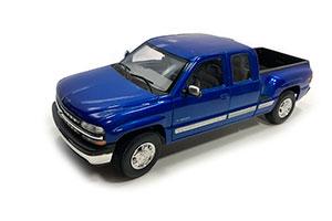 CHEVROLET SILVERADO EXTENDED CAB 1999 METALLIC BLUE