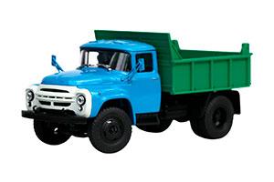 ZIL MMZ-4502 (9/1) 1964-1986 GREEN/BLUE (USSR RUSSIAN)   ЗИЛ ММЗ-4502 (9/1) ЗЕЛЕНО-ГОЛУБОЙ *ЗИЛ ЗАВОД ИМЕНИ ЛИХАЧЕВА
