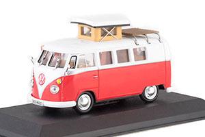 VW VOLKSWAGEN KOMBI WESTFALIA SO 42 1966 RED/WHITE *ФОЛЬКСВАГЕН ФОЛЬЦВАГЕН
