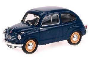 FIAT 600 1957 BLUE *ФИАТ