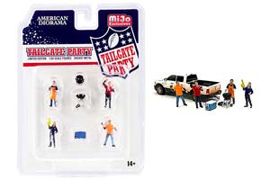 FIGURINES MIJO FIGURES TAILGATE PARTY