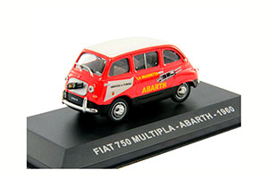 FIAT 750 MULTIPLA-ABARTH 1960 RED/WHITE