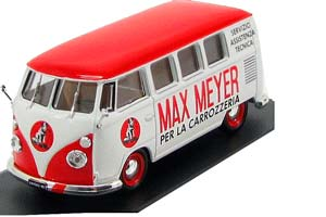 VW VOLKSWAGEN T1 KOMBI-MAX MEYER 1959 RED/WHITE