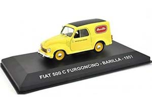 Fiat 500 C FURGONCINO BARILLA 1951 Yellow