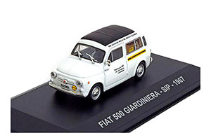Fiat 500 GIARDINIERA SIP 1967 White/Black