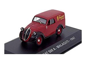 Fiat 500A MALAGUTI 1947 Maroon