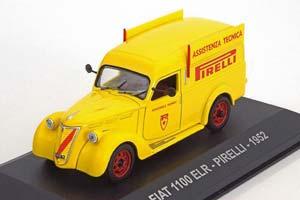 Fiat 1100 ELR PIRELLI 1952 Yellow
