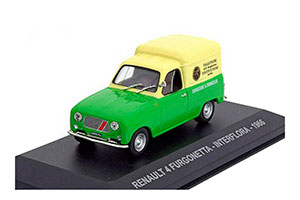 RENAULT 4 FURGONETTA INTERFLORA 1966 GREEN/YELLOW