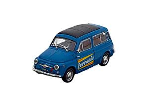 FIAT 500 GIARDINIERA-FERRANIA 1964 BLUE/BLACK