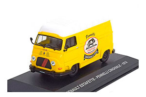 Renault ESTAFETTE-PENNELLI CINGHIALE 1974 Yellow/White