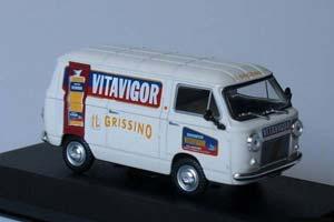 FIAT 850 T-VITAVIGOR 1965 WHITE