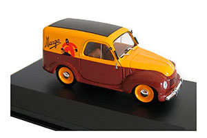 FIAT 500 C FURGONCINO-MARGA 1950 YELLOW/BROWN