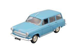 GAZ 22 AUTO LEGENDS USSR #18 BLUE (USSR RUSSIA)   ГОРЬКИЙ 22 АВТОЛЕГЕНДЫ СССР 18 ГОЛУБОЙ