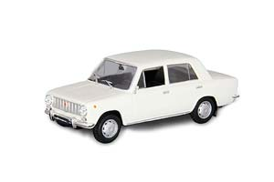 VAZ 2101 LADA (USSR RUSSIAN CAR) WHITE #25   ВАЗ 2101 ЖИГУЛИ АВТОЛЕГЕНДЫ СССР #25