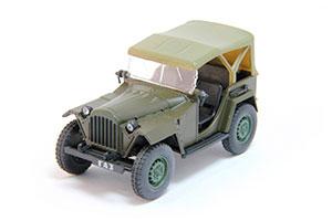 GAZ 67B (USSR RUSSIAN) 1943 DARK GREEN #30 | ГАЗ 67Б АВТОЛЕГЕНДЫ СССР #30