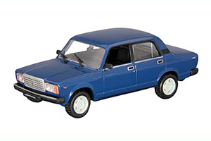 VAZ 2105 LADA (USSR RUSSIAN CAR) WHITE #31   ВАЗ 2105 ЖИГУЛИ АВТОЛЕГЕНДЫ СССР #31