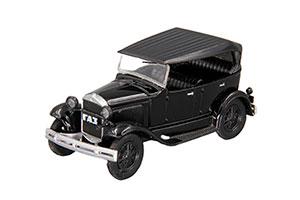 GAZ-A (USSR RUSSIAN) 1932 BLACK #38 | ГАЗ-А АВТОЛЕГЕНДЫ СССР #38