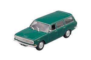 GAZ 2402 USSR AUTO LEGENDS #71 DARK GREEN (USSR RUSSIA)   ГОРЬКИЙ 2402 АВТОЛЕГЕНДЫ СССР 71 ТЕМНО-ЗЕЛЕНЫЙ