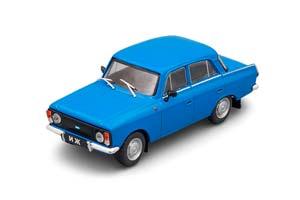 IZH 412-028 AUTO LEGENDS USSR #85 BLUE (USSR RUSSIA)   ИЖ 412-028 АВТОЛЕГЕНДЫ СССР 85 СИНИЙ