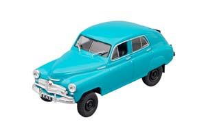 GAZ M72 AUTO LEGENDS USSR #95 BLUE   ГАЗ М72 АВТОЛЕГЕНДЫ СССР #95 ГОЛУБОЙ
