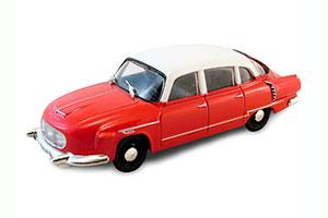 TATRA 603 1956-1975 RED/WHITE #155 | ТАТРА 603 АВТОЛЕГЕНДЫ СССР #155