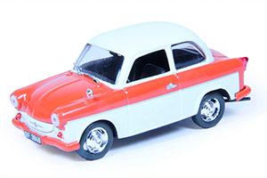 TRABANT P50 LIMOUSINE 1957-1991 RED/WHITE #173 | ТРАБАНТ П50 АВТОЛЕГЕНДЫ СССР #173