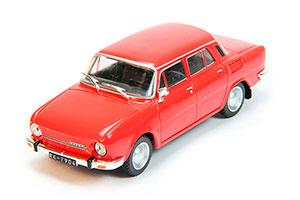 SKODA 100 1969-1977 RED #188 | ШКОДА 100 АВТОЛЕГЕНДЫ СССР #188