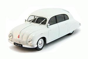 TATRA T600 1948-1951 WHITE #198 | ТАТРА Т600 АВТОЛЕГЕНДЫ СССР #198