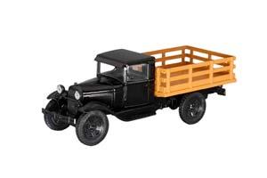 FORD MODEL AA (1931) AUTO LEGENDS USSR #222 BLACK (USSR RUSSIA)   FORD MODEL AA (1931) АВТОЛЕГЕНДЫ СССР 222 ЧЕРНЫЙ