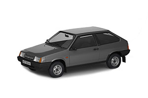 VAZ 2108 LADA (USSR RUSSIAN) 1986-2003 GREY #263   ВАЗ 2108 ЖИГУЛИ АВТОЛЕГЕНДЫ СССР #264