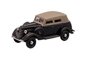 GAZ-61 (USSR RUSSIAN) 1939 BLACK #269 | ГАЗ-61 АВТОЛЕГЕНДЫ СССР #269