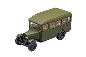 GAZ 03-30 (USSR RUSSIAN) 1933-1950 GREEN #273 | ГАЗ-03-30 АВТОЛЕГЕНДЫ СССР #273