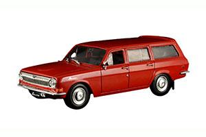 GAZ 2402 (USSR RUSSIAN) 1972 RED #13 | ГАЗ 2402 АВТОЛЕГЕНДЫ СССР #13