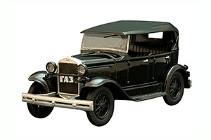 GAZ-A (USSR RUSSIAN) 1932 BLACK #39 | ГАЗ-А АВТОЛЕГЕНДЫ СССР. ЛУЧШЕЕ #39