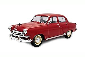 GAZ M21 VOLGA (USSR RUSSIAN) 1962 RED #47 | ГАЗ М21 ВОЛГА АВТОЛЕГЕНДЫ СССР #47