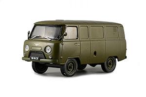 UAZ 451M (USSR RUSSIAN CAR) DARK GREEN #77 | УАЗ-451М АВТОЛЕГЕНДЫ СССР #77 *УАЗ УЛЬЯНОВСКИЙ АВТОЗАВОД