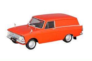 MOSKVICH 433/34 AZLK (USSR RUSSIAN) 1968 RED #83 | МОСКВИЧ 433/34 АЗЛК АВТОЛЕГЕНДЫ СССР #83