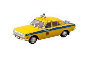 GAZ 24 POLICY (USSR RUSSIAN) YELLOW | ГАЗ 24 ВОЛГА ГАИ СССР СПЕЦВЫПУСК МИЛИЦИЯ #1