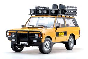 LAND ROVER CAMEL TROPHY SUMATRA 1981 YELLOW LIMITED EDITION 1200 *ЛЭНД ЛЕНД РОВЕР ЛЕНТ