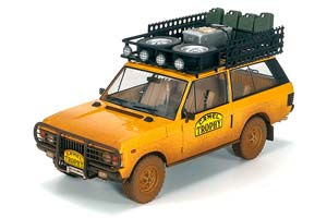 "RANGE ROVER ""CAMEL TROPHY"" PAPUA NEW GUINEA 1982 DIRTY LIMITED EDITION 504"