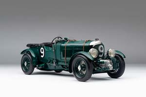 BENTLEY BLOWER 2ND LE MANS 1929 GREEN *БЕНТЛЕЙ БЕНТЛИ БЕНТЛЮ