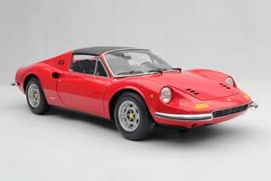 FERRARI 246 GTS DINO USA 1971 RED/BLACK ROOF *ФЕРРАРИ ФЕРАРИ ФИРАРИ ФИРРАРИ
