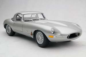 JAGUAR E-TYPE LWE 2014 CAR ZERO 1961 SILVER *ЯГУАР ДЖАГУАР