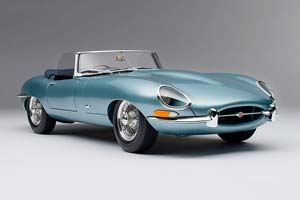 JAGUAR E-TYPE ROADSTER 1961 LIGHT BLUE *ЯГУАР ДЖАГУАР