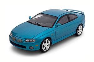 PONTIAC GTO 2004 BLUE METALLIC SPECIAL EDITION FOR CAR AND DRIVER