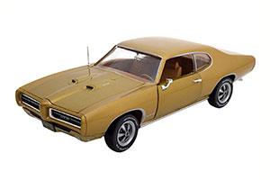 PONTIAC GTO 1969 LIGHT GOLDEN