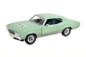 BUICK GS 455 1970 LIGHT GREEN-METALLIC LIMITED EDITION 1002 PCS