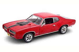 PONTIAC GTO ROYAL BOBCAT 1968 RED/BLACK LIMITED EDITION 1002 PCS